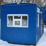Вагон-дома пост охраны в г. Мурманск